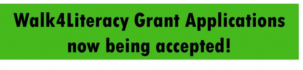 Grant Apps now accepted